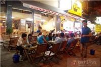 Món bò nướng ngói ở đường Hùng Vương