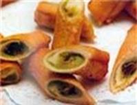 Bánh dừa nhân chuối