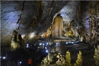 Hang động ở Quảng Bình không dành cho người yếu tim