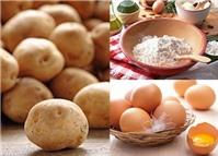 Với 1 củ khoai tây có ngay công thức sạch mụn, trị nám, dưỡng da sáng mịn sau 7 ngày