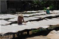 Bánh phồng Sơn Đốc- Đậm đà hương vị xứ Dừa ngày Tết