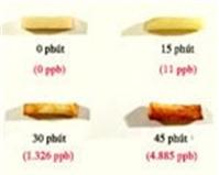 Khoai tây rán càng lâu càng chứa nhiều chất gây ung thư