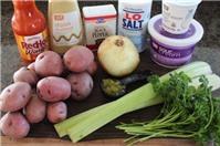 Tự làm salad khoai tây