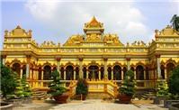 Du lịch Tiền Giang ghé thăm chùa Vĩnh Tràng tuyệt đẹp