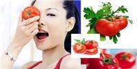 Hết nám da nhờ cà chua - đảm bảo hiệu quả sau 10 ngày