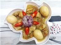 Thịt Kho Hột vịt mang vị ngọt bùi của dừa đậm đà của quê hương