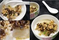 Bánh đúc nước dừa tôm thịt