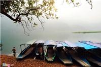 Cảnh sắc làm say lòng người ở hồ Ba Bể