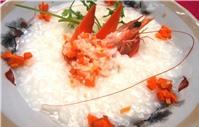 Cháo tôm cà-rốt