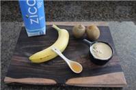 Chuối xay kiwi thơm ngon, bổ dưỡng