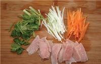 Thịt chiên xào rau củ ngon mà không ngán