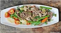 Món ngon mỗi ngày: Thịt bò xào thập cẩm
