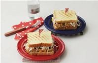 Bánh kẹp sandwich thơm ngon cho bữa sáng đầy dưỡng chất
