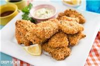 Cá hồi chiên xù - Món ngon bổ dưỡng không nên bỏ qua