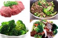 Thịt bò xào súp lơ, hành tây ngon, tiết kiệm ngày cuối tuần
