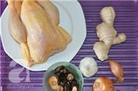 Cách làm gà hấp gia vị tuyệt hảo cho bữa trưa