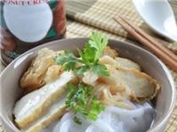 Bánh canh bột gạo cốt dừa