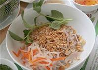 Bánh canh khô - Đặc sản Tây Ninh