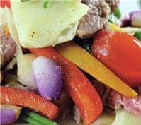 Món ngon cuối tuần: Măng chua xào thịt bò