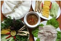 Địa chỉ các quán bánh tráng thịt heo Đà Nẵng ngon tại Hà Nội